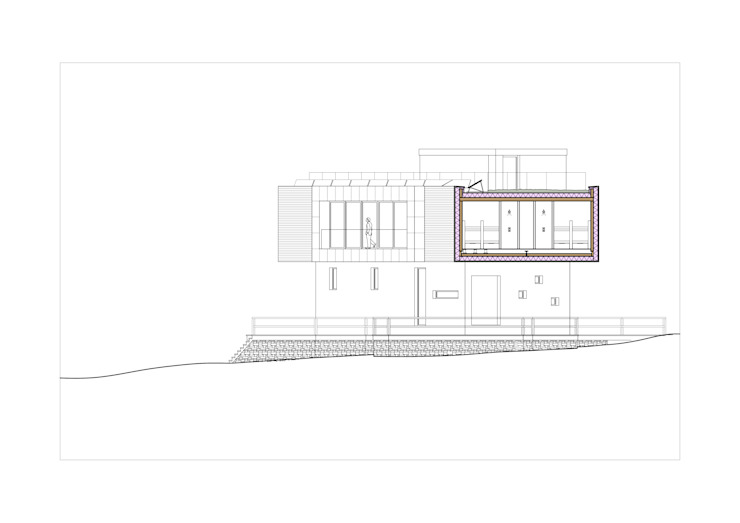 NEW COTTAGE OF KEZMAROK, COMPETITION ENTRY من E2 Architecture + Interiors حداثي