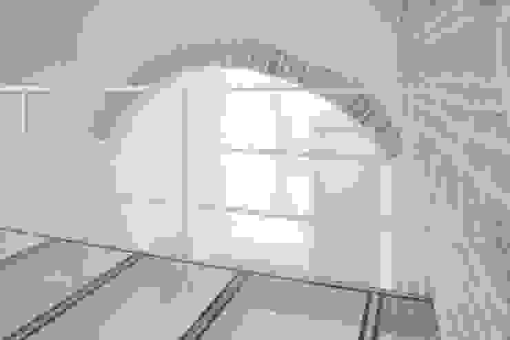3C+M architettura Mediterranean corridor, hallway & stairs