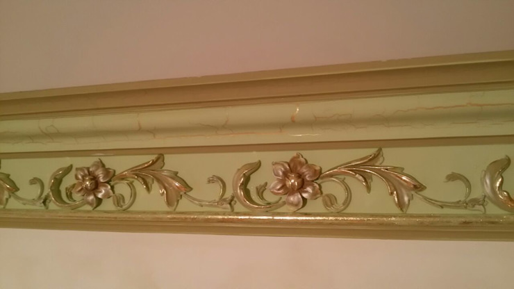 роспись гипса Спальня в классическом стиле от Абрикос Классический