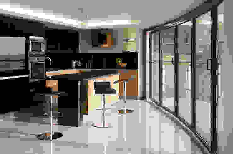 Beaufort Mansions Cocinas minimalistas de Lee Evans Partnership Minimalista