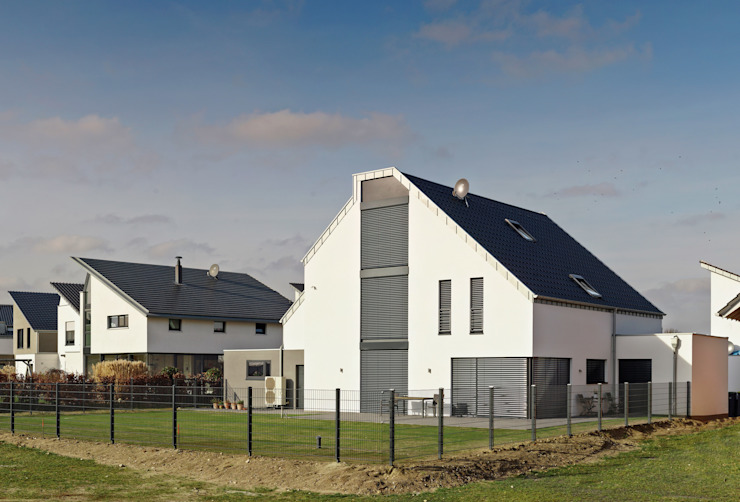 Südansicht (geschlossen) Klassische Häuser von Architektur I Stadtplanung Verhoeven Klassisch
