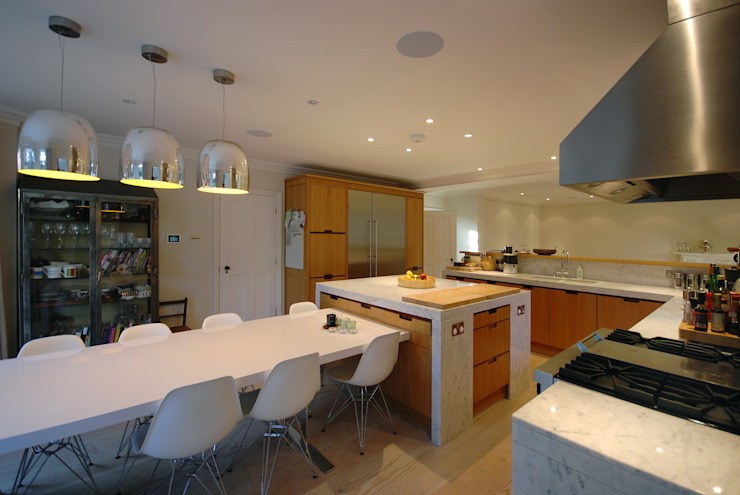 Rosalyn House Modern kitchen by Lee Evans Partnership Modern