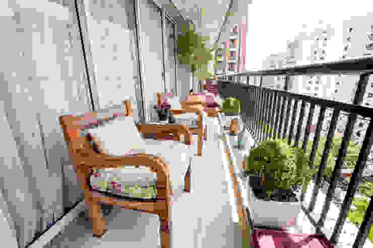 Varanda Varandas, alpendres e terraços modernos por Casa 2 Arquitetos Moderno