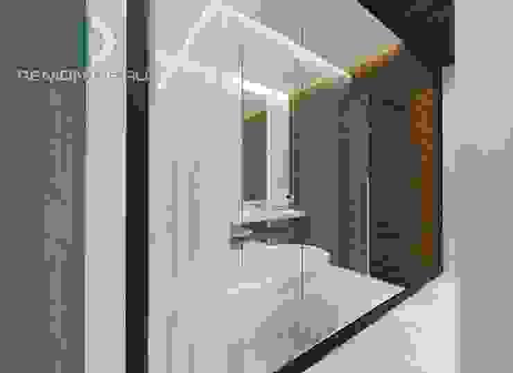 """Дизайн-студия Группы Компаний """"Фундамент"""" Ванная комната в стиле минимализм от Группа Компаний 'Фундамент' Минимализм"""