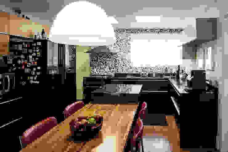Cocinas de estilo  por Casa 2 Arquitetos, Moderno