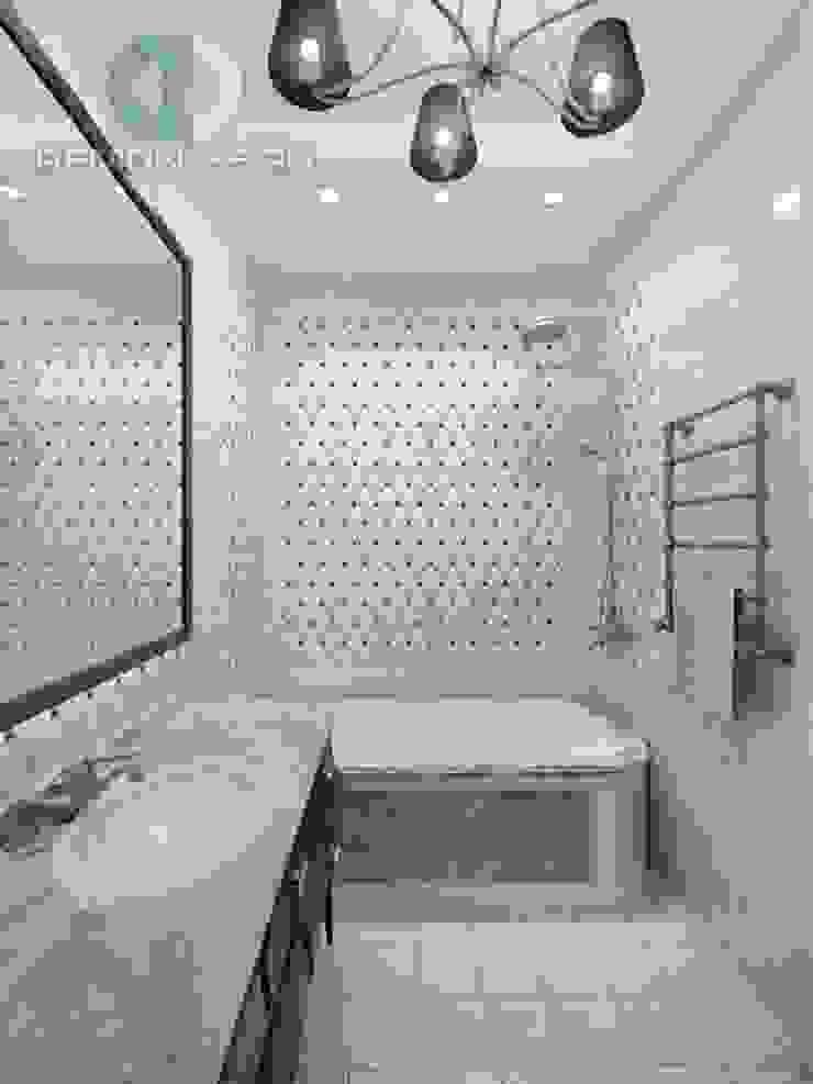 """Дизайн-студия ГК """"Фундамент"""" Ванная в колониальном стиле от Группа Компаний 'Фундамент' Колониальный"""