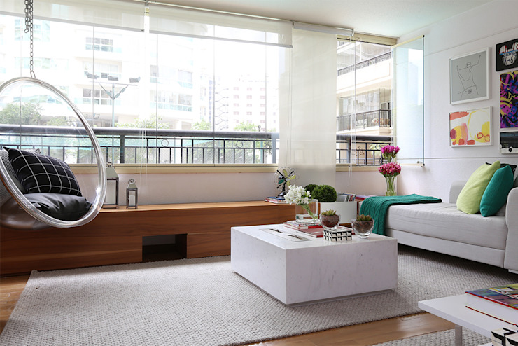 Casa 2 Arquitetos Living room