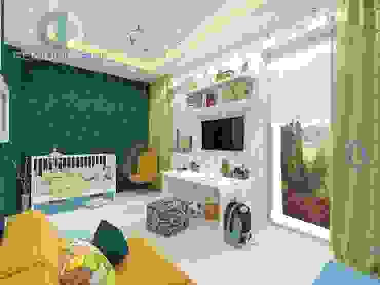 """Студия дизайна ГК """"Фундамент"""" Столовая комната в стиле минимализм от Группа Компаний 'Фундамент' Минимализм"""