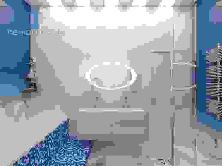 "Студия дизайна ГК ""Фундамент"" Ванная комната в стиле минимализм от Группа Компаний 'Фундамент' Минимализм"