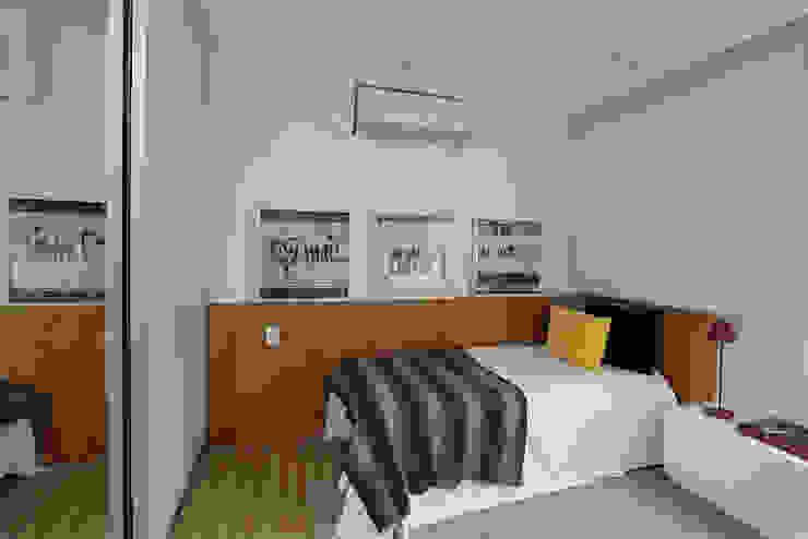 Quarto 3 Quartos modernos por Casa 2 Arquitetos Moderno