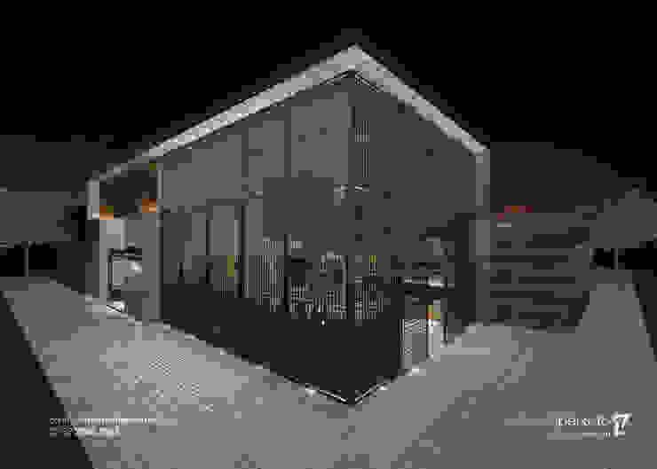 Fachada Espaços gastronômicos modernos por Marcella Peixoto Arquitetura Design Moderno