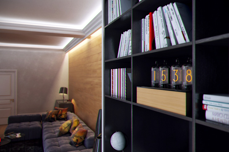 Salones eclécticos de Перспектива Дизайн Ecléctico