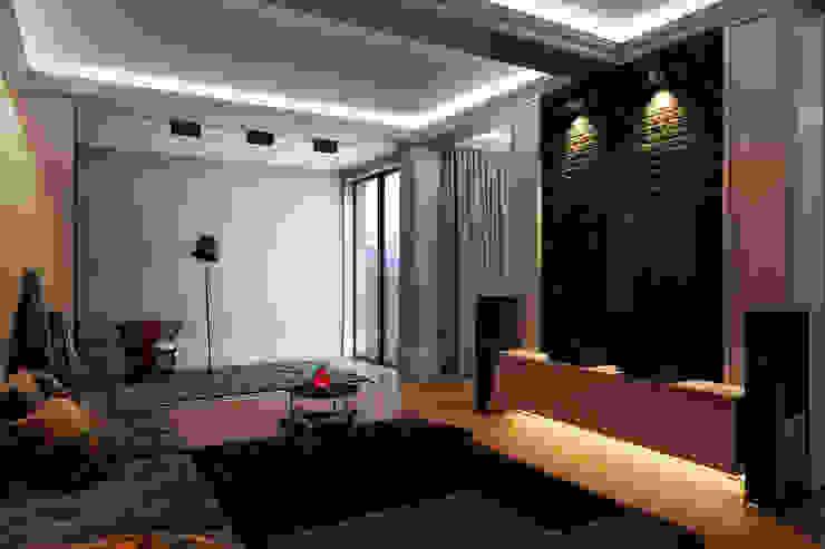 Дом для отдыха в Ялте Гостиные в эклектичном стиле от Перспектива Дизайн Эклектичный