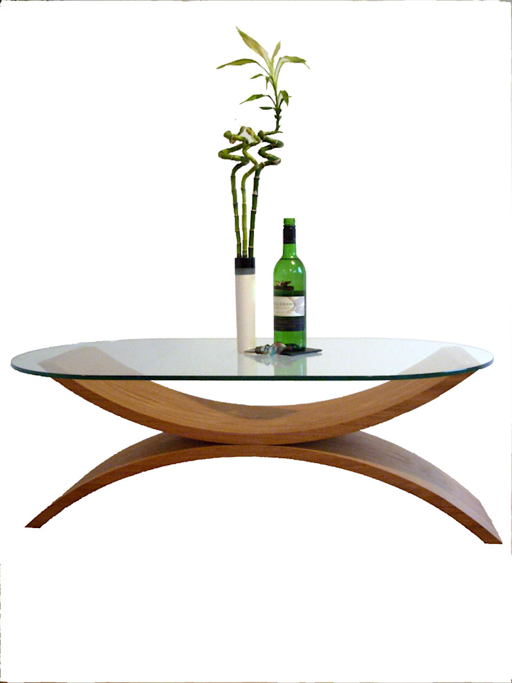 Reflections coffee table in oak par ChippDesigns Moderne