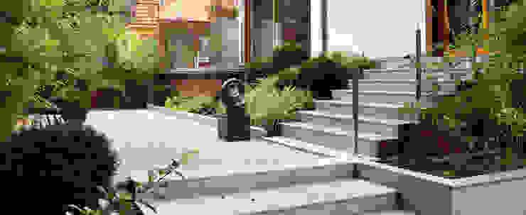 OGRÓD SKANDYNAWSKI SPRING architektura krajobrazu Minimalistyczny ogród