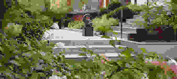 OGRÓD SKANDYNAWSKI Minimalistyczny ogród od SPRING architektura krajobrazu Minimalistyczny