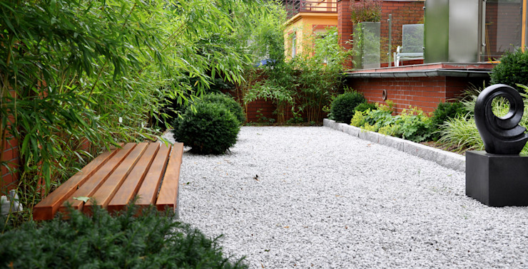 สวน โดย SPRING architektura krajobrazu, มินิมัล