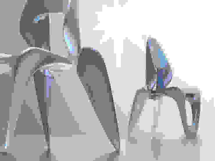 SkulptChair cool metal: modern  von ThomasCleverDesign,Modern