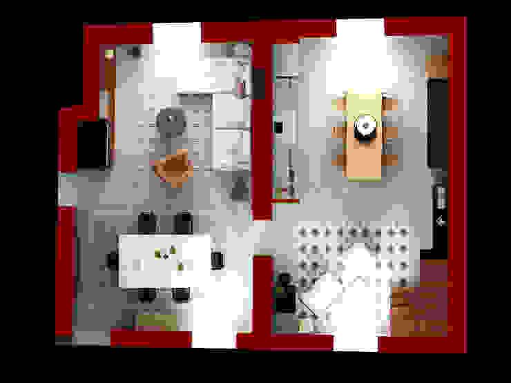 Casas de estilo  por Beniamino Faliti Architetto