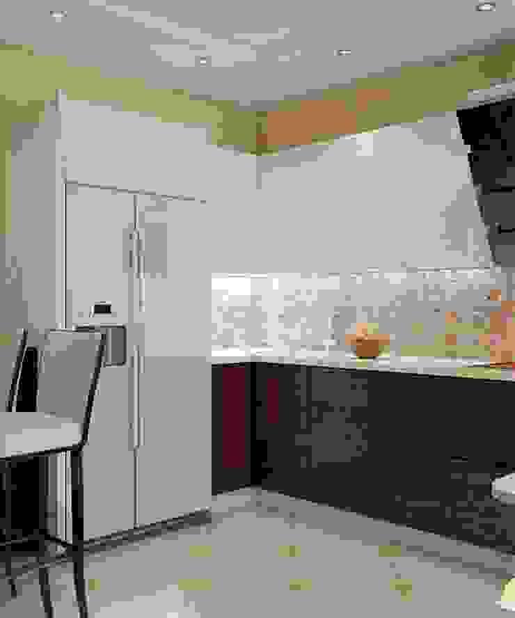 Проект 3к.кв ЖК Галант Кухня в классическом стиле от MoRo Классический
