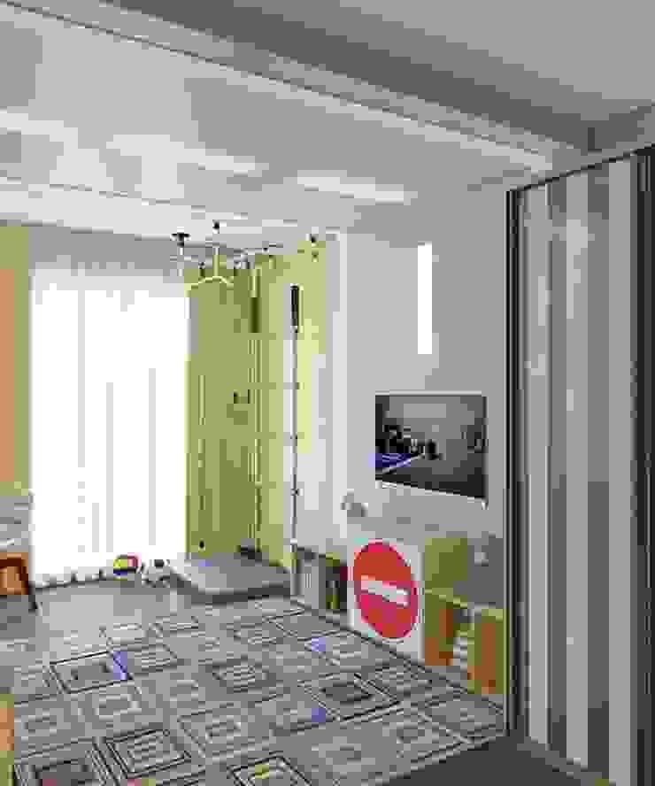 Проект 3к.кв ЖК Галант Детская комнатa в классическом стиле от MoRo Классический