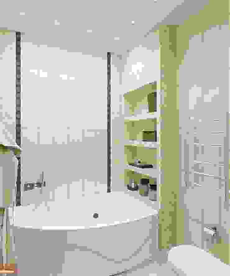 Проект 3к.кв ЖК Галант Ванная в классическом стиле от MoRo Классический