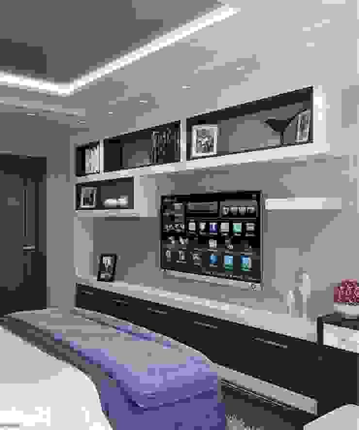 Проект 3к.кв ЖК Галант Спальня в классическом стиле от MoRo Классический