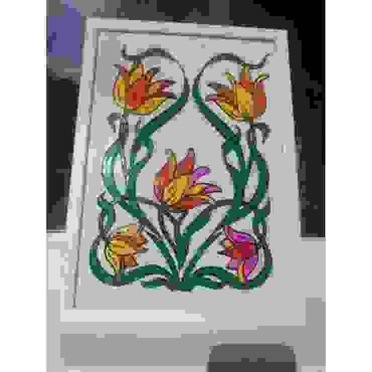 """Витраж """"Весенние цветы"""" от Дизайн-ателье Dr.Master Классический"""