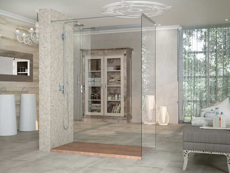Classic style bathrooms by INTERAZULEJO Classic