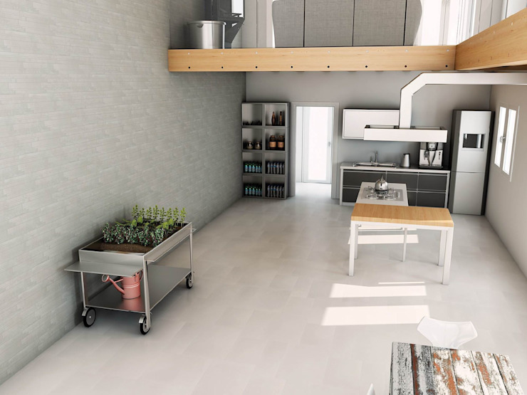 INTERAZULEJO Dapur Gaya Skandinavia