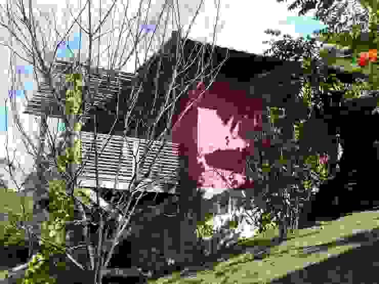 Casa de Hóspedes Casas rústicas por Ronald Ingber Arquitetura Rústico