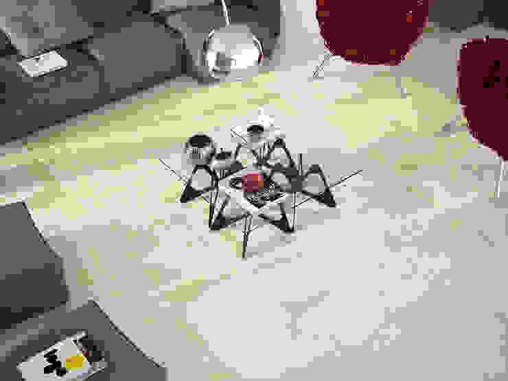 INTERAZULEJO Ruang Keluarga Modern