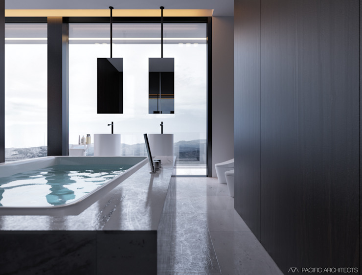 010 Ванная комната в стиле минимализм от Aksenova&Gorodkov project Минимализм