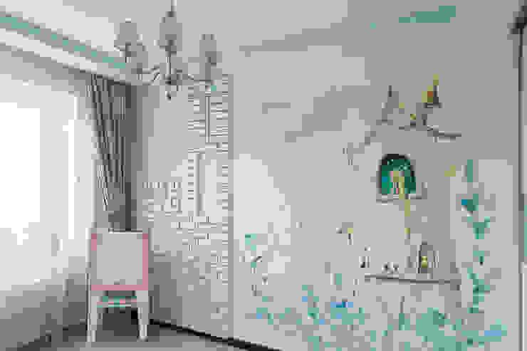 Квартира 74 Детская комнатa в классическом стиле от Cameleon Interiors Классический