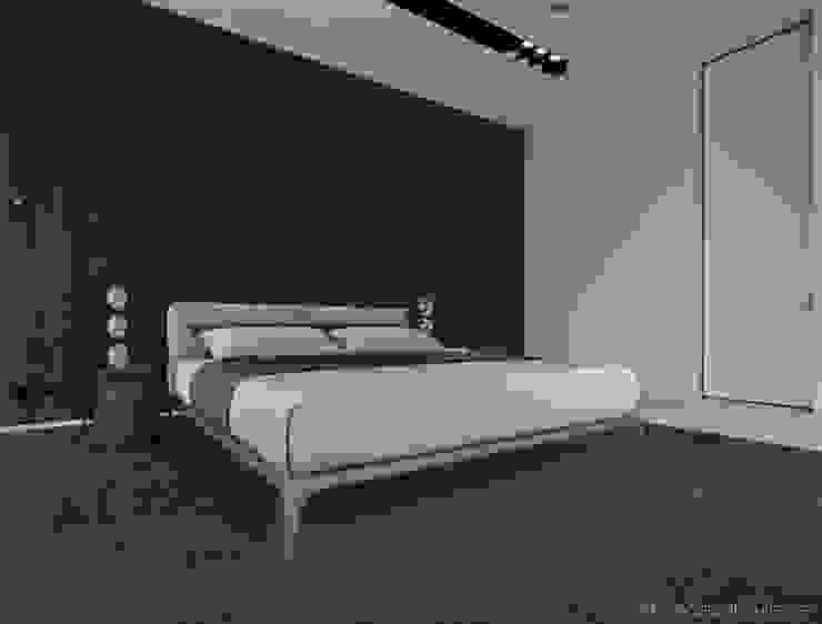 008 Спальня в стиле минимализм от Aksenova&Gorodkov project Минимализм