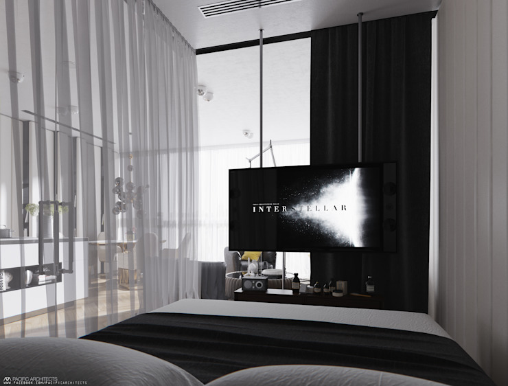 008 Спальня в стиле модерн от Aksenova&Gorodkov project Модерн