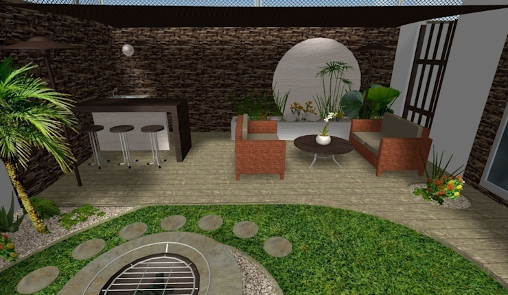 Taman oleh Zen Ambient, Modern