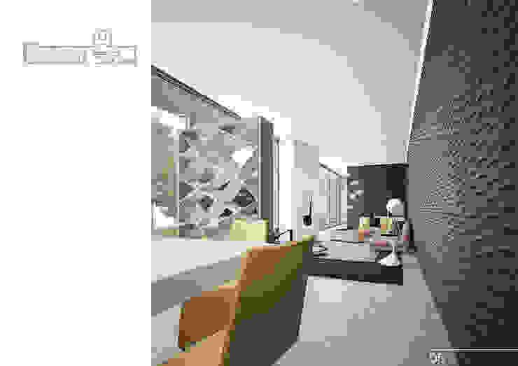 007 Гостиная в стиле модерн от Aksenova&Gorodkov project Модерн