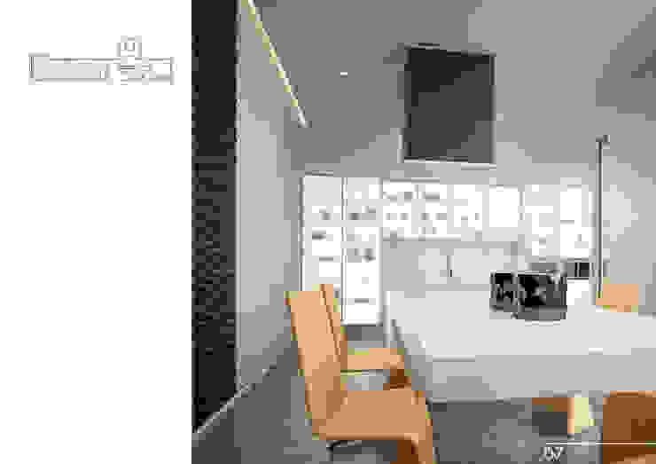 008 Кухня в стиле модерн от Aksenova&Gorodkov project Модерн