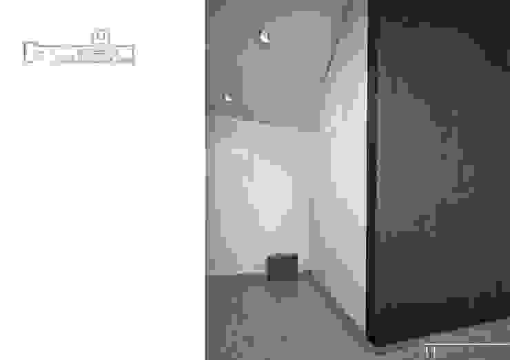 012 Коридор, прихожая и лестница в модерн стиле от Aksenova&Gorodkov project Модерн