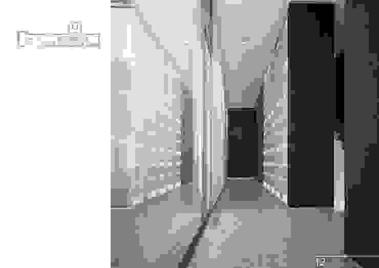 013 Коридор, прихожая и лестница в модерн стиле от Aksenova&Gorodkov project Модерн