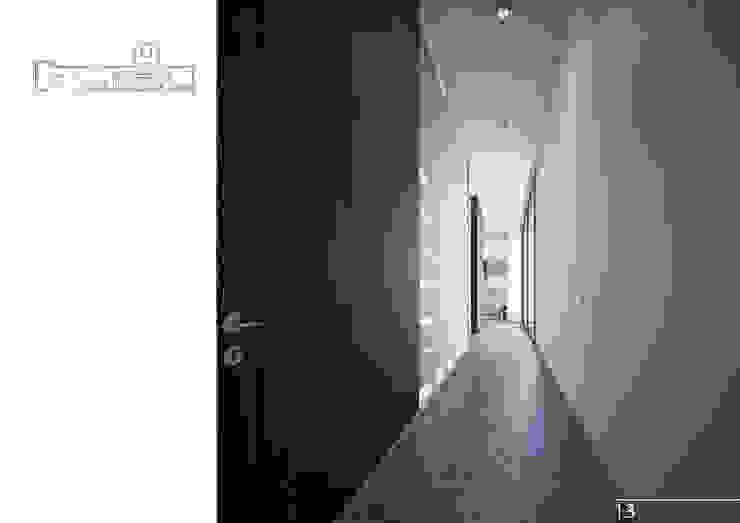 014 Коридор, прихожая и лестница в модерн стиле от Aksenova&Gorodkov project Модерн