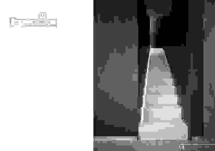 015 Коридор, прихожая и лестница в модерн стиле от Aksenova&Gorodkov project Модерн