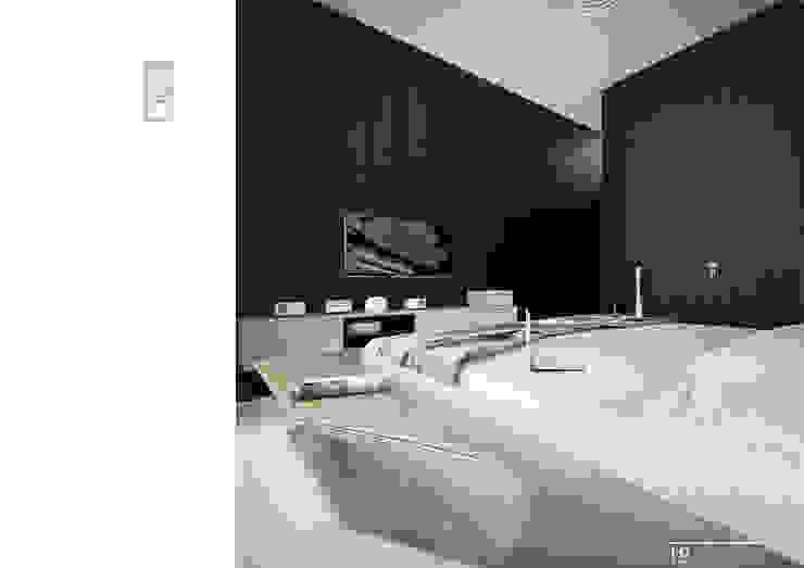 020 Спальня в стиле модерн от Aksenova&Gorodkov project Модерн