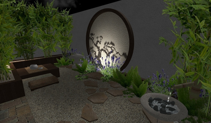 Asian style garden by Zen Ambient Asian
