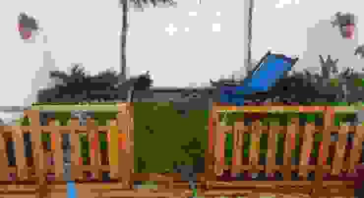 jardín muy pequeño - patio trasero - 13 m2 Zen Ambient