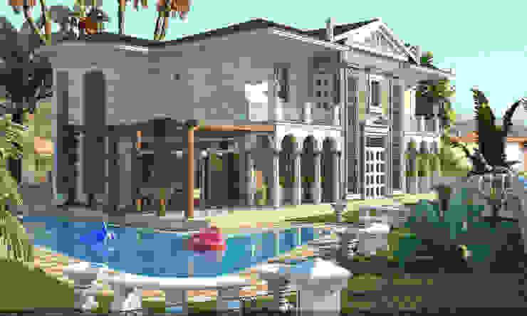 Вилла в Турции Дома в классическом стиле от Architoria 3D Классический