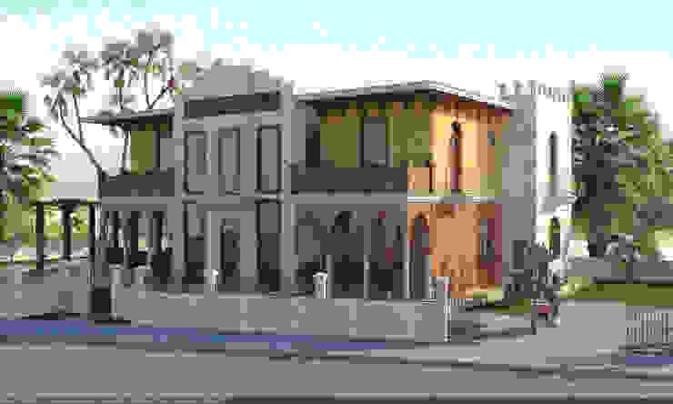 Вилла в Турции Дома в азиатском стиле от Architoria 3D Азиатский