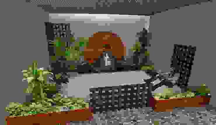 jardín pequeño tropical Zen Ambient Jardines de estilo rústico