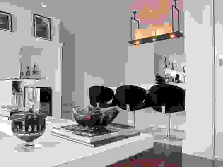 Detalhe Salas de jantar modernas por Arquitetura Juliana Fabrizzi Moderno